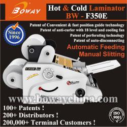 A3 A4 de duas faces quente Bolsa do Rolo de Filme Manual de alimentação de papel automático rompimento do Laminador a Frio