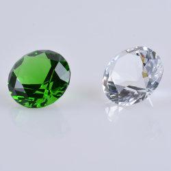 결혼 선물을%s 다채로운 유리제 수정같은 다이아몬드 조각