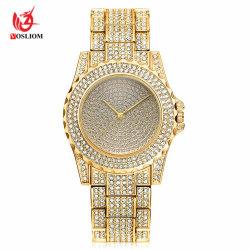 2018 Nouveau Mesdames Montres femmes Rhinestone Crystal Watch Lady robe de pierre de diamant Regarder#V496