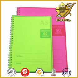 PVC piacevole Sheet di Printable Colred Transparent per Notebook Cover