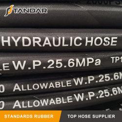 Norma SAE 100R4 Anti-Static reforçado trançado de fibra de Sucção do Óleo Hidráulico e a mangueira de descarga