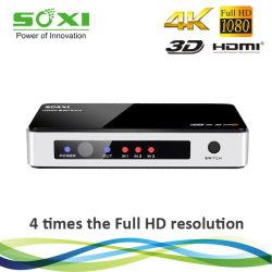 Hoge snelheid Ultra HD 4k HDMI Switch 3X1 met Wireless IRL Remote
