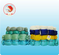 Alta qualidade e monofilamento de nylon aos multifilamentos de PE de poliéster de pontos nodados Rede de Pesca