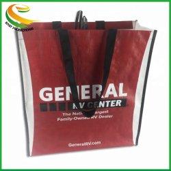 Sac shopping en PP non tissé Chanvre Sac de transport des sacs en plastique avec poignée