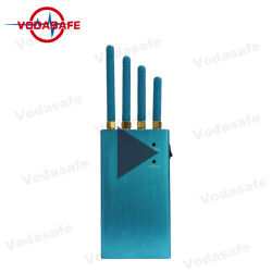 4 Antennen Hand-GPS-Signal-Hemmer, der Gpsl1 Gpsl2 Gpsl3 Gpsl4 Gpsl5 Auto-Block Anti-GPS-Einheit staut