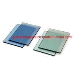 4mm, 5mm, 6mm, 8mm, 10mm 컬러/착색 유리/투명 플로트 유리/브론즈/브라운/블루/그레이/그레이/그린/블랙/핑크 빌딩 유리, 스테인드 글라스, 건설용 유리