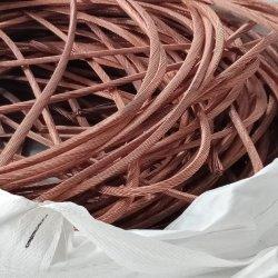 La aplicación de la industria de chatarra de cable de cobre Grado de pureza del 99,9