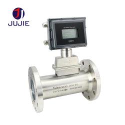 Le débitmètre à turbine à gaz pour le gaz naturel/méthane/oxygène/d'azote/l'Argon/dioxyde de carbone/débitmètre d'air comprimé