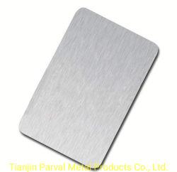 10m de comprimento, 201 304 321 316L Mirror 8K 2b Prédio de Materiais de aço escovado polido chapa de aço inoxidável para preço de produtos de cozinha