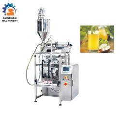 セリウムが付いている自動液体のフルーツジュースの満ちるパッキング機械装置