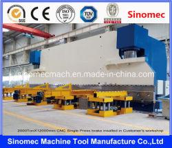 CNCは押すブレーキ機械CNCの曲がる機械/CNC油圧出版物ブレーキCNCのシート・メタル機械(WE67K-1000T/8000)を