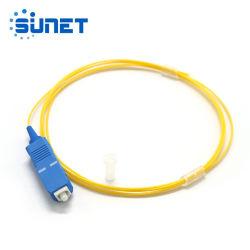 Treccia ottica monomodale della fibra delle trecce FTTH di Sc/Upc con il connettore
