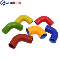 Tuyau flexible de coude de 90 degrés échangeur air-air du turbocompresseur de flexible en silicone flexible en silicone bosse de silicone joint silicone