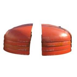 Reflector de acero al carbono los extremos (embutidas cabeza para recipientes a presión Acero al carbono, Acero Inoxidable, Aluminio, Titanio Petróleo, tanque de gas químico)