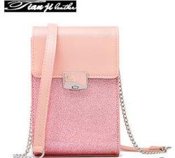 Concepteur de gros sacs Mini PU Fashion Téléphone/Femmes wallet/Mesdames sac à main (J574)