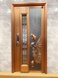Commerce de gros des portes en fer domicile utilisé porte d'entrée en acier inoxydable