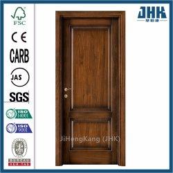 Big porte en bois massif porte en bois de placage de pliage du châssis