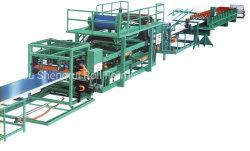 China EPS&Rock Wool/Mineral Wool Isolation Sandwich Panel Roll Forming machine/Production Lijnprijzen