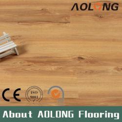 DIY の取付けの現代贅沢な防水屋内かちりと音ロック PVC ビニール SPC 床材ビル材料