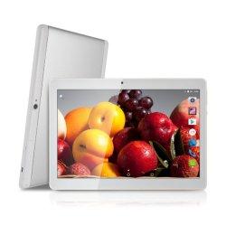 أجهزة الكمبيوتر اللوحي بنظام Android بالجملة Mtk6580 رباعية المراكز 10.1 بوصة ثنائية بطاقة SIM سعة 2 جيجابايت و32 جيجابايت للكمبيوتر اللوحي Android 7.0 GPS WiFi 3G 10.1 جهاز لوحي بحجم بوصة