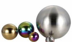 De spiegel poetste het Holle Matte Gebied van het Staal op zandstraalt Holle Holle Bal 15mm5000mm, Dikte 0.5mm tot 5mm van het Roestvrij staal van de Ballen van het Metaal Vlek Gebeëindigde