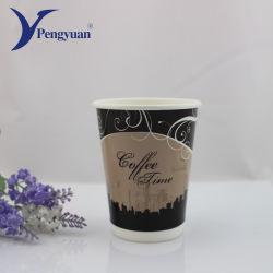 De Kop van het Document van de Koffie van de Muur van de Milieubescherming Beschikbare Dubbele