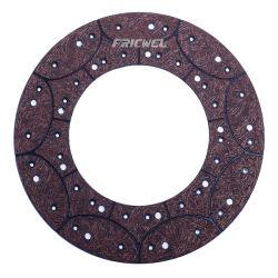 Forro de la placa de embrague embrague utilizado en camiones fabricante de materiales de fricción