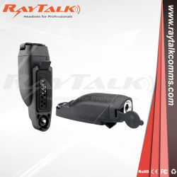 Motorola Gp344/Gp388/Ex500へのMotorola Visarのための対面無線の可聴周波アダプター