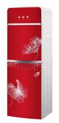 Большой размер стекла двери горячей и холодной диспенсер для воды с холодильником шкафа электроавтоматики
