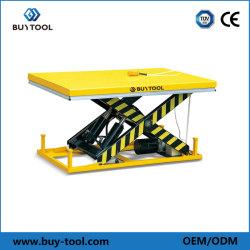 4ton estáticos para trabajo pesado de la mesa elevadora eléctrica de tijera hidráulico