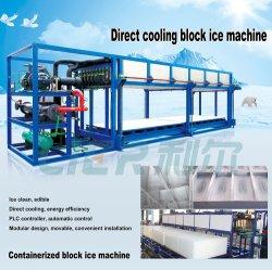 L'efficacité énergétique Le bloc de refroidissement direct de commande automatique de la machine à glace de la Chine usine