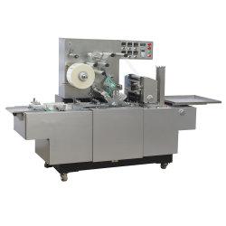 Bt 200 자동적인 건빵 판지 상자 3D 포장기 BOPP 필름 향수 트럼프패 셀로판 Overwrapping 기계