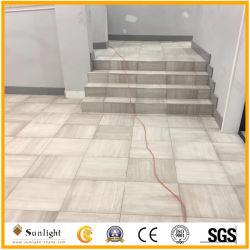 Marmo di legno bianco della vena per la pavimentazione e le mattonelle di Threthold
