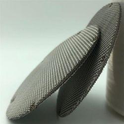 20 Micron 316L قرص مرشح شبكي سلكي من الفولاذ المقاوم للصدأ