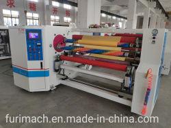 Furimach Automatic BOPP Klebeband Aufwickelmaschine/Stretchfolie Jumbo Roll Rewinder Machinery/PE/PVC/Masking Tape/Rollpapier/Kraft/PE/PVC