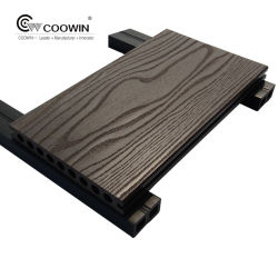De houten Plastic Samenstelling Decking van het Patroon WPC van de Korrel voor OpenluchtBevloering