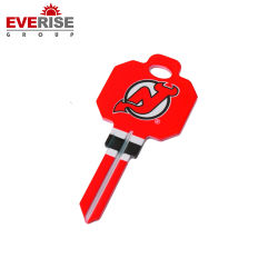 Tecla colorida chave virgem para promoção e venda