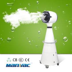 Druck-Typ Wasser-Sprüher-haltbarer Aufbau-im Freien abkühlender Nebel-Ventilator