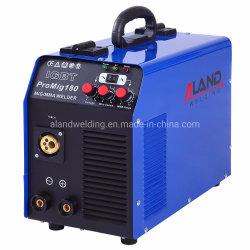 Portable sem gás Promig180 DC MIG Mag máquina de solda