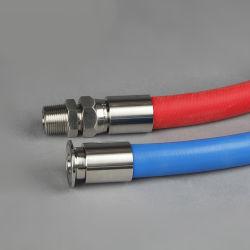 Virole en acier d'usinage CNC 00110 le raccord de flexible