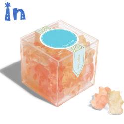 小さいプラスチックギフトのオルガナイザーの結婚式の好意キャンデーボックス