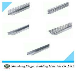 中国のアルミニウムタイルの乾式壁のコーナービードは、コーナービードをスタッコ仕上げにする