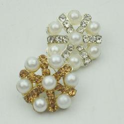 Boutons de métal Pearl Accessoires de mode pour la tenue vestimentaire