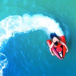 Agua de alta calidad Tabla de surf de chorros de energía eléctrica equipo de buceo.