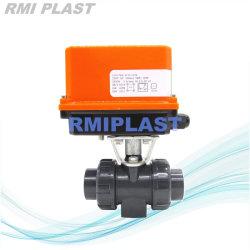 プラスチックPVC PP PVDF CPVC空気の電気フランジ本当連合球弁またはWcbのステンレス鋼のダムのタイプダイヤフラムの/Handギヤ蝶/振動小切手弁