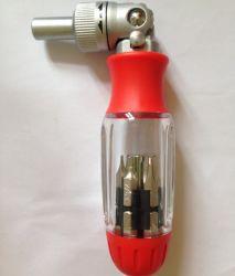 Домашняя Многофункциональный 12ПК инструменты с храповым механизмом для ремонта автомобиля с плоским лезвием,