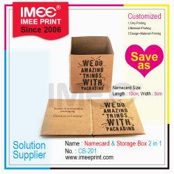 Imeeの印刷の小さい小型サイズのデスクトップは紙箱の包装をリサイクルする