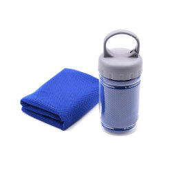 Hochwertiges Workout Small Size Microfaser Recyceltes Instant Cooling Handtuch Für Fitness