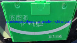 Pp.-hohles Plastikblatt-Postverpackungs-Kasten für zurückführbares