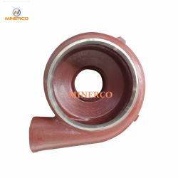 A05 de alta calidad de la bomba de agua de caucho Revestimiento de piezas de repuesto difusor